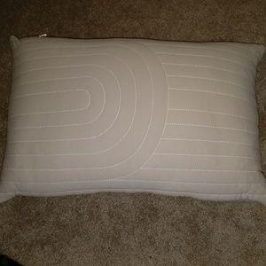 Project 62 gray throw pillow NIP